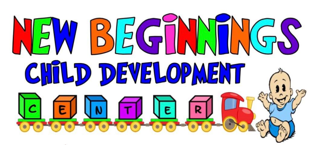 New Beginnings Child Development Center sign